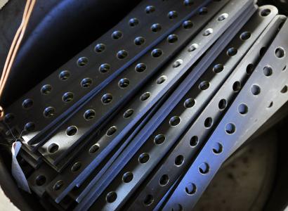 株式会社伊藤鉄工所の多品種小量生産から大量生産まで幅広く柔軟に対応する部品の写真